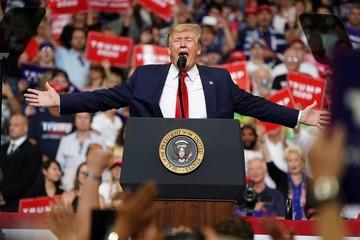 Mức độ tín nhiệm với Tổng thống Trump vẫn ở mức thấp