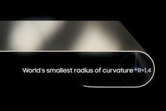 Samsung ra mắt màn hình gập OLED với độ cong nhỏ nhất thế giới