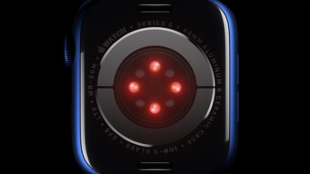 Đo SpO2 là một trong những tính năng đáng chú ý nhất trên Apple Watch Series 6. Ảnh: Apple.