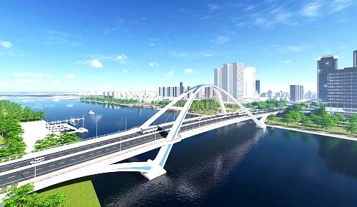 Khởi công cầu 791 tỷ đồng bắc qua sông Cần Thơ