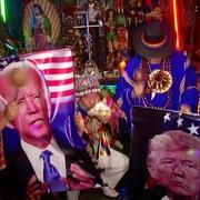 Pháp sư Peru làm nghi lễ dự đoán kết quả bầu cử Mỹ