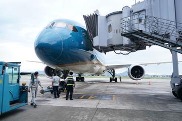 Chuyến bay 'mở cửa lại bầu trời' chở gần 60 hành khách đến Tokyo