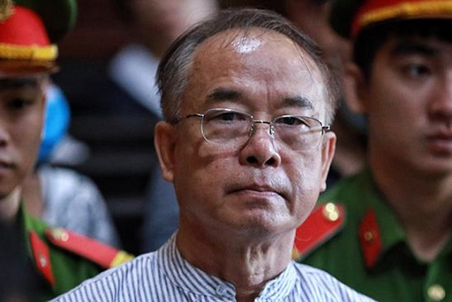 Ông Nguyễn Thành Tài lãnh 8 năm tù.