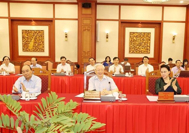 Tổng Bí thư, Chủ tịch nước làm việc với Đảng ủy Công an Trung ương