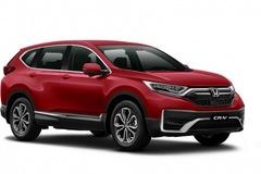 Honda CR-V có thêm bản màu đỏ, giá cao hơn 5 triệu đồng so với các màu khác