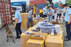 Danh mục hàng hóa nhập khẩu không được gửi kho ngoại quan