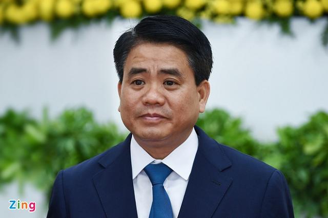 Chuẩn bị miễn nhiệm chức Chủ tịch Hà Nội đối với ông Nguyễn Đức Chung