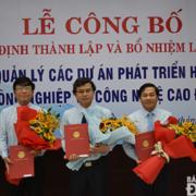Ban Quản lý dự án phát triển hạ tầng khu công nghiệp & công nghệ cao Đà Nẵng có tân Giám đốc