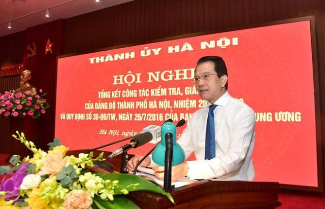 Hà Nội kỷ luật 5 thành ủy viên