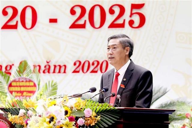 Ông Nguyễn Hữu Đông tái đắc cử Bí thư Tỉnh ủy Sơn La.