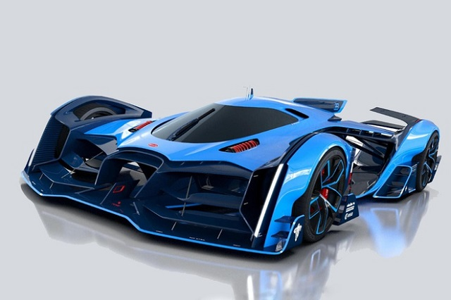 Bugatti chuẩn bị trình làng siêu xe điện