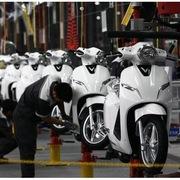 7 tháng năm 2020, doanh số bán xe máy tại Việt Nam giảm 11,6%