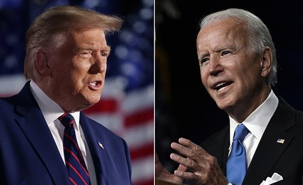 Trump - Biden tập dượt cho trận 'so găng'
