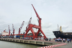 Cảng quốc tế Long An mở cửa