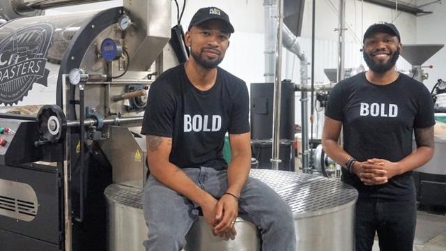 Pernell Cezar và Rod Johnson là hai đồng sáng lập của công ty trà và cà phê Mỹ Blk & Bold Specialty Beverage.