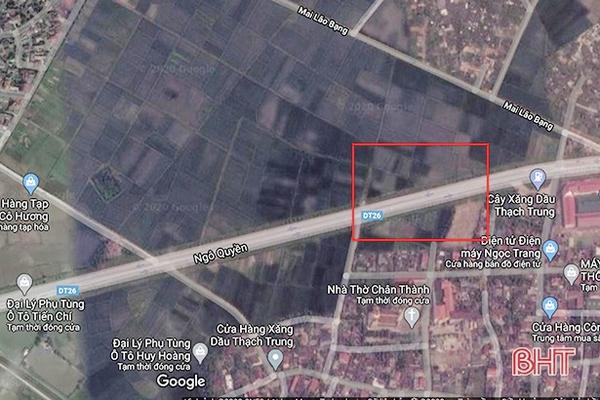 Hà Tĩnh sắp có khu đô thị 711 tỷ đồng