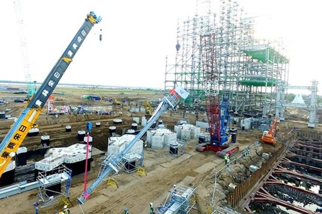 Dự án nhiệt điện sông Hậu 1 là một trong những dự án nguồn điện chậm tiến độ điển hình.
