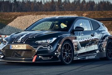 Hyundai ra mắt siêu xe điện