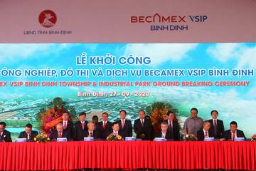 Khởi công khu công nghiệp hơn 1.400 ha tại Bình Định