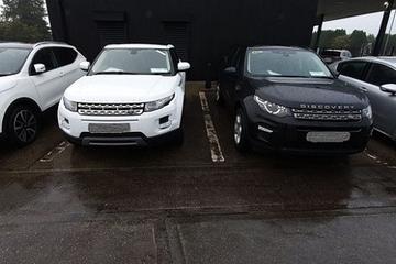 Hàng chục ôtô hạng sang liên quan nghi án rửa tiền bị thu giữ
