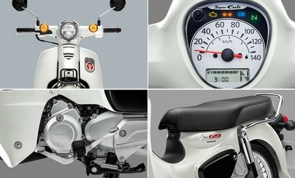 Honda Super Cub mới ra mắt tại Thái Lan, giá 35 triệu đồng