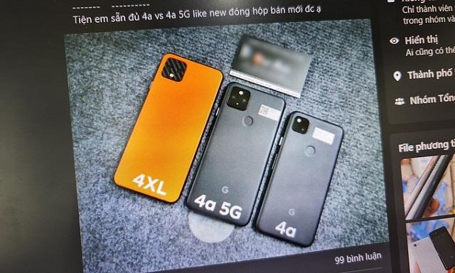 Điện thoại Google chưa ra mắt đã bán đầy ở Việt Nam