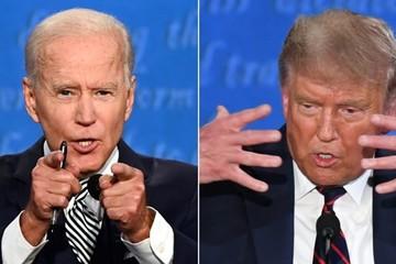 Những pha đấu khẩu nảy lửa tại phiên tranh luận đầu tiên của Trump - Biden