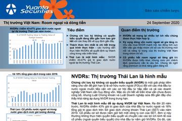 YSVN: NVDRS - Thị trường Thái Lan là hình mẫu