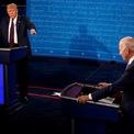 <p> Hiếm có phút nào trôi qua mà một trong hai ứng viên không ngắt lời đối thủ.</p>