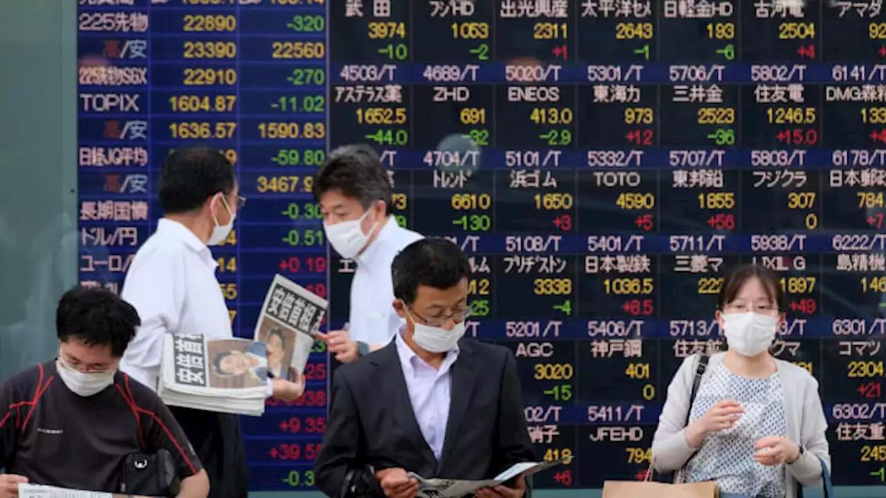 Chứng khoán châu Á trái chiều sau số liệu sản xuất từ Trung Quốc