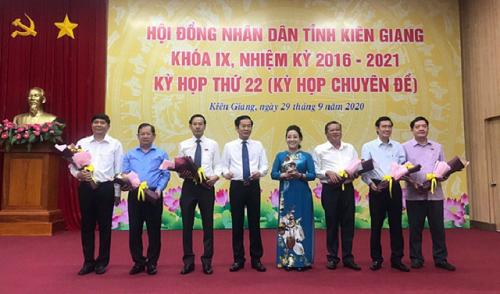 Kiên Giang có tân Phó Chủ tịch tỉnh