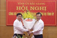 Bắc Giang có nhân sự mới