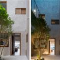 <p> Do đó, kết cấu sàn lửng được sử dụng cho không gian tầng trệt để loại bỏ cột ở vị trí góc cạnh, từ đó tạo sự thông suốt giữa nhà và sân vườn.</p>