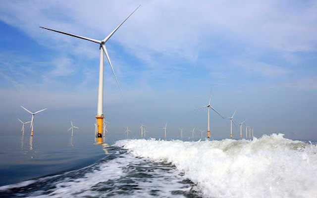 Tập đoàn AnhEnterprize Energy muốn đầu tư dự án điện gió ngoài khơi trị giá 12 tỷ USD ở Bình Thuận.