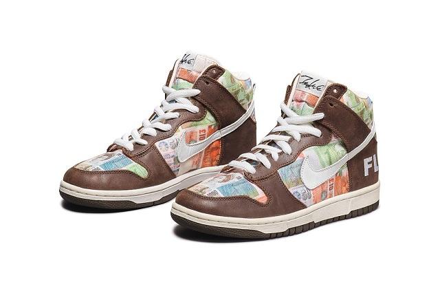 Một đôi giày Nike vừa được bán với giá 63.000 USD