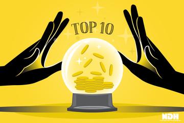 10 cổ phiếu tăng/giảm mạnh nhất tuần: