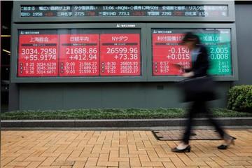 Chứng khoán châu Á tăng điểm, thị trường theo dõi sức khỏe của Trump