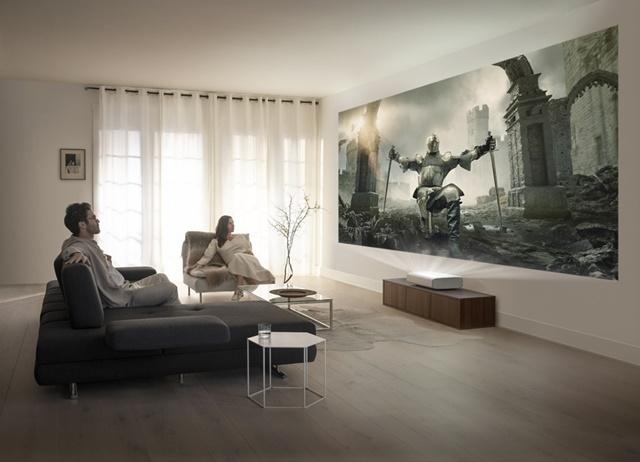Samsung ra mắt máy chiếu phim gia đình mới
