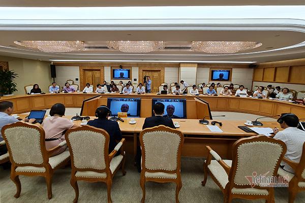 Hội nghị trực tuyến Mạng lưới thực hành quy định tốt ASEAN OECD lần thứ 6. Ảnh: Trọng Đạt.