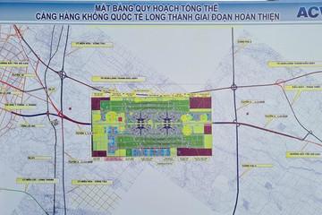Chưa thể thực hiện 2 tuyến đường kết nối sân bay Long Thành