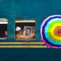 """<p> Giải nhì thuộc về bức ảnh """"Sắc màu cuộc sống"""" chụp tạiBangladesh của tác giả Sujon Adhikary.</p>"""