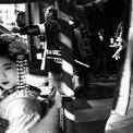 """<p> Bức ảnh """"Bài hát dân ca""""của Daniele Esposito chụp tại Kyoto, Nhật Bản.</p>"""