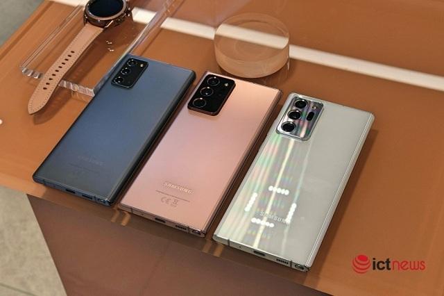 Galaxy Note 20 Ultra giảm giá đến 7 triệu