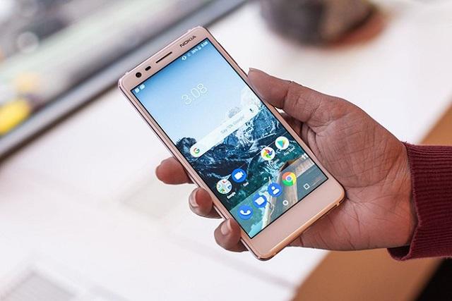 Android 10 triển khai đến Nokia 3.1