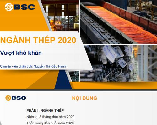 BSC: Triển vọng ngành thép 2020- Vượt khó khăn