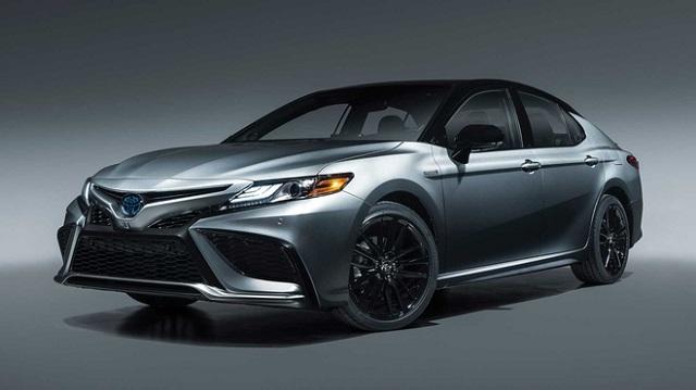 Toyota Camry là sedan bán chạy nhất tại Mỹ trong quý III