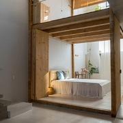 Thiết kế nhà 2 tầng đơn giản, tiết kiệm cho người độc thân