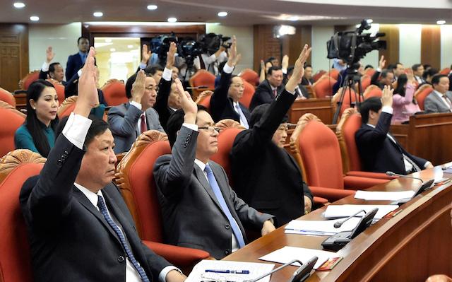 Trung ương thống nhất cao với đề xuất của Bộ Chính trị về nhân sự khoá XIII