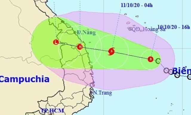 Miền Trung đối diện ba áp thấp nhiệt đới