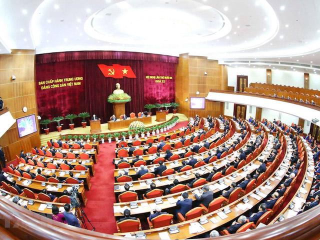 Hội nghị Trung ương 13 đã bế mạc ngày 9/10.